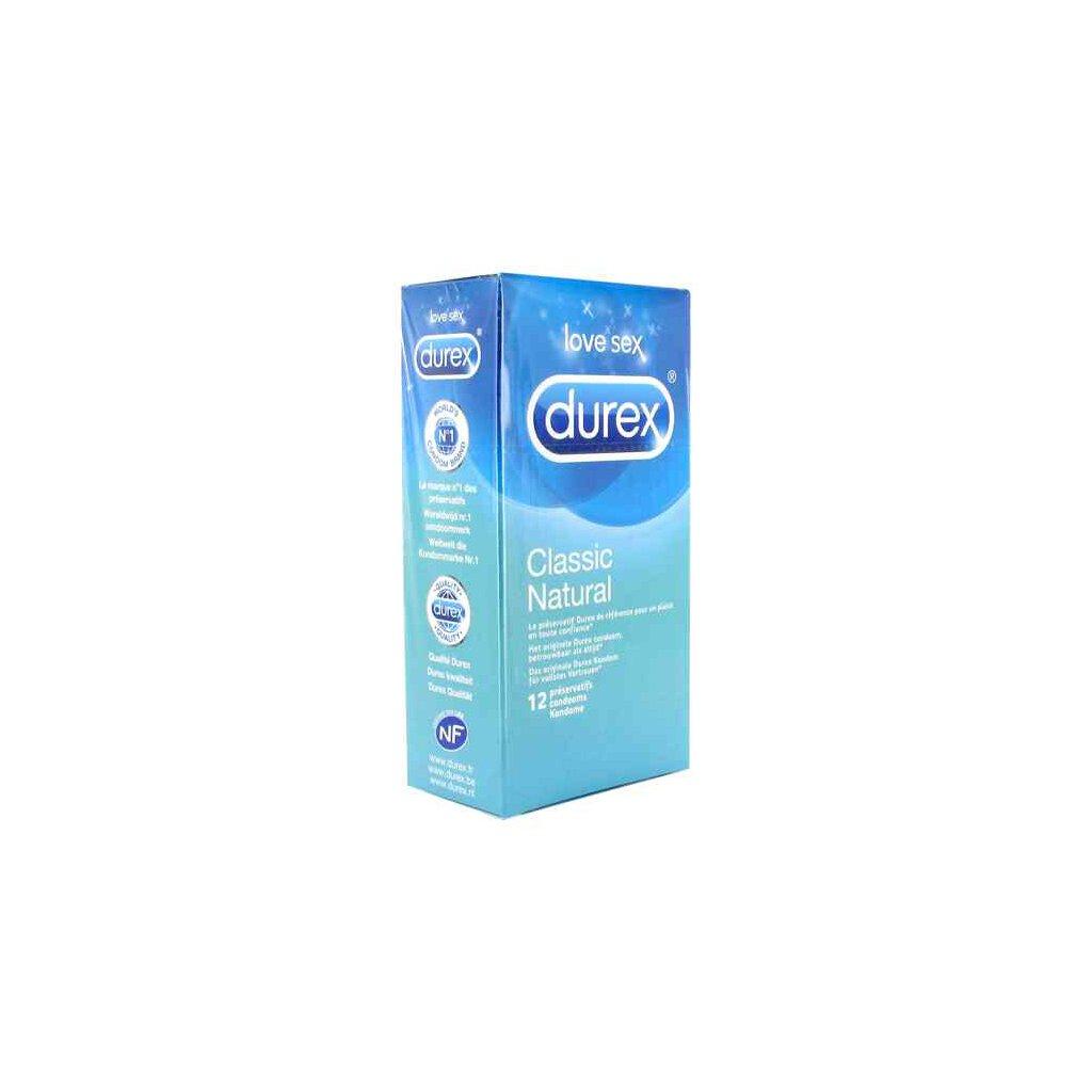 Durex - Classic Natural Condoms 12 pcs, € 11,95